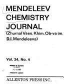 Mendeleev Chemistry Journal Book PDF