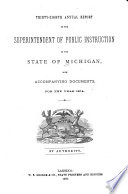 Report Of The Superintendent Of Public Instruction Book PDF