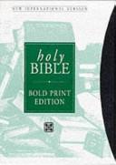 Niv Bold Print Bible