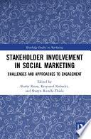 Stakeholder Involvement in Social Marketing Book