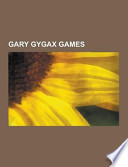 Gary Gygax Games