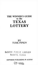 The Winner s Guide to the Texas Lottery Book