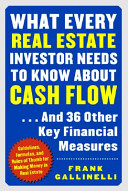 What Every Real Estate Investor Needs To Know About Cash Flow And 36 Other Key Financial Measures PDF