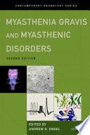 Myasthenia Gravis and Myasthenic Disorders Book