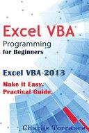 Excel Vba Programming for Beginners