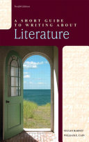 A Short Guide to Writing about Literature