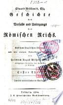 Geschichte des Verfalls und Untergangs des Römischen Reichs