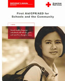 First Aid CPR AED for Schools and the Community Book