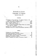 University of Detroit Bi monthly Law Review