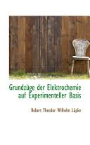 Grundzuge Der Elektrochemie Auf Experimenteller Basis