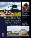 Municipal Solid Waste Energy Conversion in Emerging Countries Book