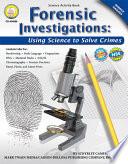 Forensic Investigations  Grades 6   8