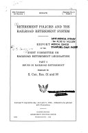 Retirement policies and the railroad retirement system