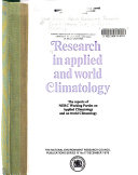 Research in Applied and World Climatology