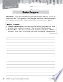 Island Of The Blue Dolphins Reader Response Writing Prompts Book PDF