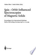 Spin-orbit-influenced spectroscopies of magnetic solids