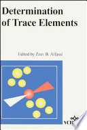 Determination of Trace Elements