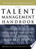 The Talent Management Handbook Book
