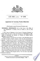 English Patents of Inventions  Specifications Book