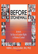 Before Stonewall