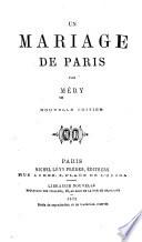Un mariage de Paris