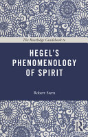 The Routledge Guide Book to Hegel's Phenomenology of Spirit