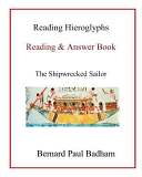 Reading Hieroglyphs Reading Answer Book