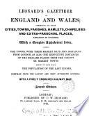 Leonard s Gazetteer of England and Wales