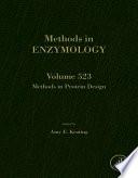 Methods In Protein Design Book PDF