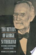 The Return of George Sutherland Book