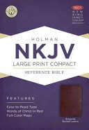 Large Print Compact Reference Bible NKJV