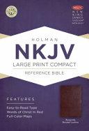 Large Print Compact Reference Bible-NKJV