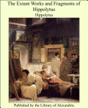 Pdf The Extant Works and Fragments of Hippolytus Telecharger