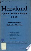 Maryland Farm Handbook 1940