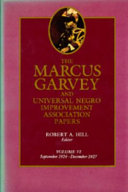 The Marcus Garvey and Universal Negro Improvement Association Papers, Vol. VI