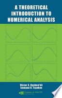 A Theoretical Introduction To Numerical Analysis Book PDF