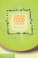 Leveraging Food Technology for Obesity Prevention and Reduction Efforts: