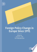 Foreign Policy Change In Europe Since 1991