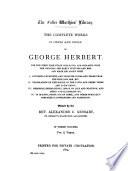 The Complete Works of George Herbert  Verse