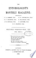 The Entomologist's Monthly Magazine