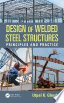 Design of Welded Steel Structures Book