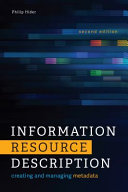 Information Resource Description Book