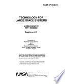 Technology for Large Space Systems  A Bibliography with Indexes  supplement 19