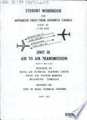 Student Workbook for Advanced First term Avionics Course  Class A1  C 100 2010 Book