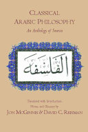 Classical Arabic Philosophy: An Anthology of Sources