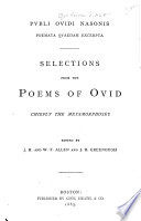 Pvbli Ovidi Nasonis Poemeta Qvaedam Excerpta Book PDF