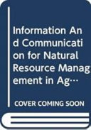 Information and Communication for Natural Resource Management in Agriculture