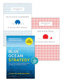 """Blue Ocean Strategy with Harvard Business Review Classic Articles """"Blue Ocean Leadership"""" and """"Red Ocean Traps"""" (3 Books)"""