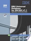 DB2 Universal Database for OS 390 V7 1 Application Certification Guide Book
