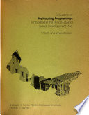 Evaluation of the Housing Programmes Embodied in the Prince Edward Island Development Plan